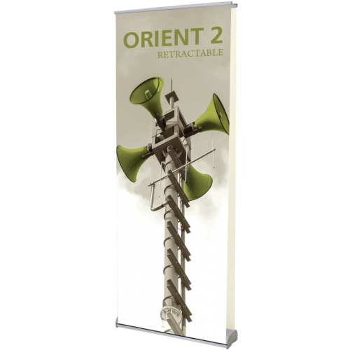 Orient 800 Double Sided Retractable Banner Stand