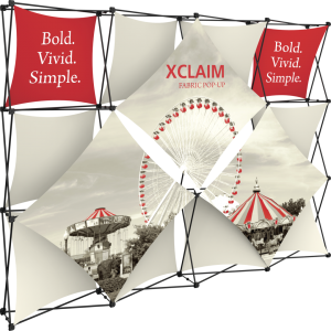 Xclaim 10ft Fabric Popup Display Kit 05